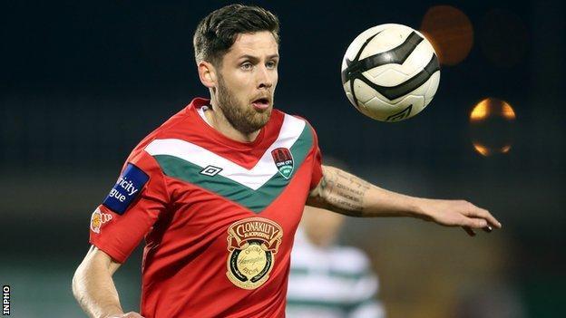 Darren Dennehy scored the winner for Cork City
