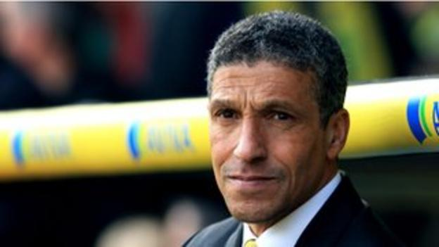 Norwich have won just two of their last 15 league matches under manager Chris Hughton