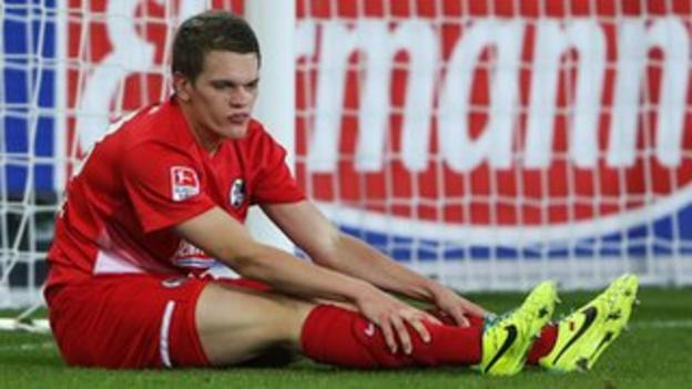 Versatile Freiburg centre-half Matthias Ginter is a target for Manchester United and Arsenal