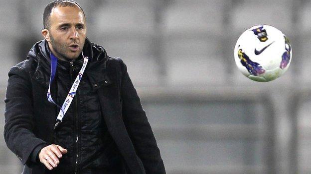 New Qatar coach Djamel Belmadi