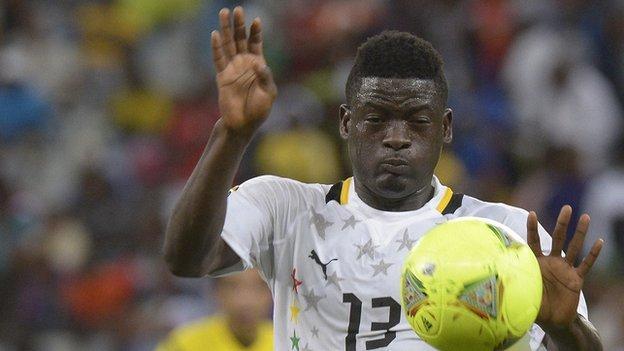 Ghana's Sulley Mohammed