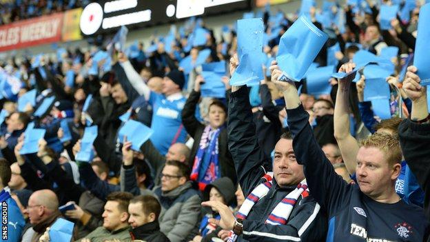 Rangers fans indicate support for Dave King's proposals at Ibrox