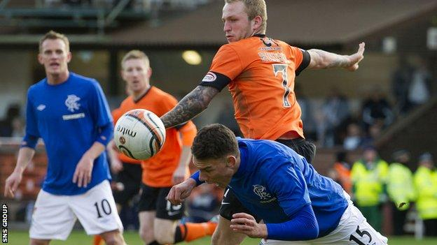 Dundee United knocked Rangers out of last year's Scottish Cup