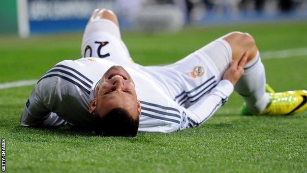 Real Madrid's Jese