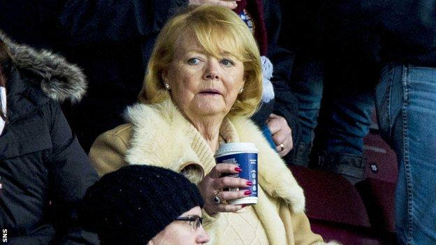 Prospective Hearts owner Ann Budge