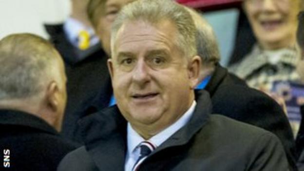 Rangers chief executive Graham Wallace