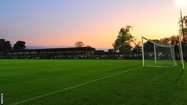 Ewen Fields, home of Hyde FC