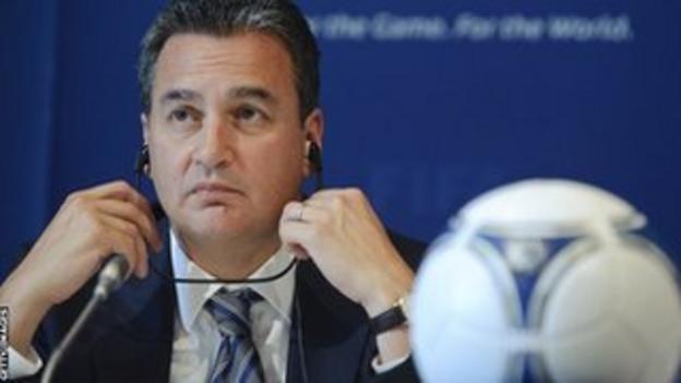 Michael J Garcia of Fifa's ethics committee