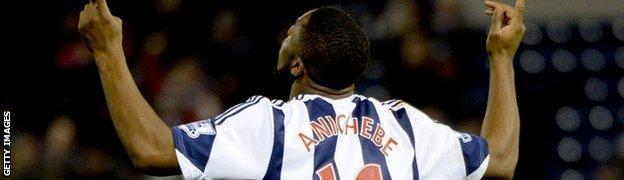 West Brom Victor Anichebe