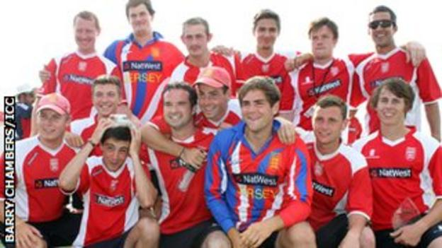 Jersey's cricketers in 2013
