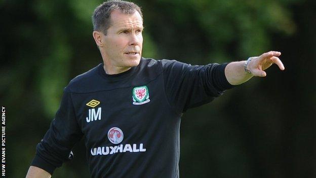 Wales Women's manager Jarmo Matikainen