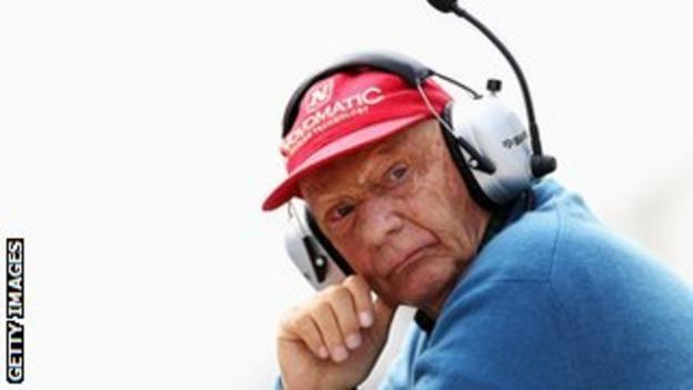 Niki Lauda defends the use of the quieter V6 engines in Formula 1
