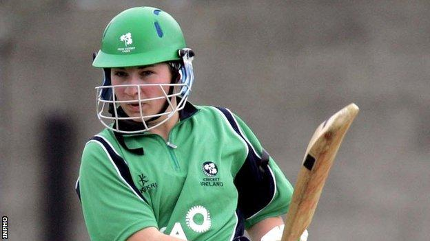 Ireland opener Claire Shillington