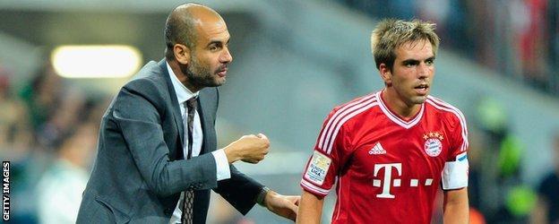Pep Guardiola & Philipp Lahm