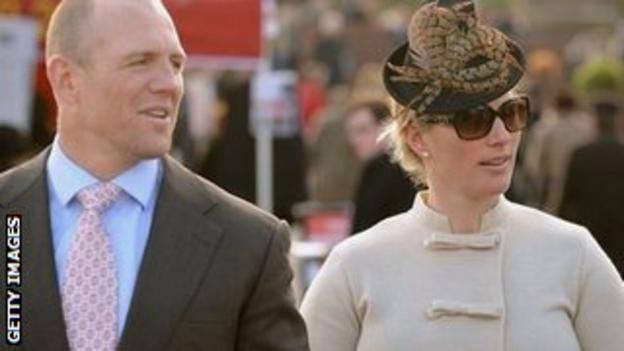 Mike Tindall and wife Zara