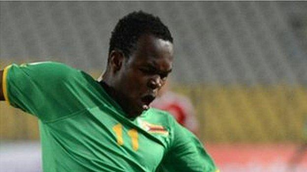 Al Ahli Benghazi and Zimbabwe striker Edward Sadomba