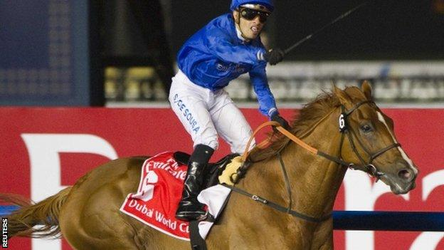 African Story wins the Dubai World Cup