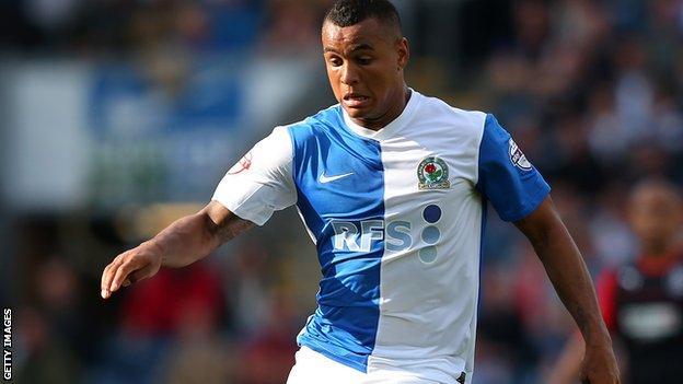 Blackburn Rovers winger Josh King