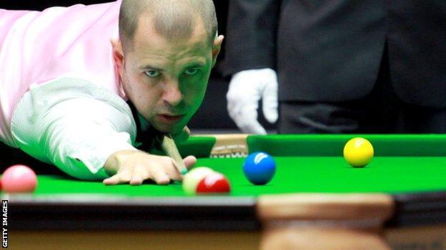 Barry Hawkins wins Players' Championship