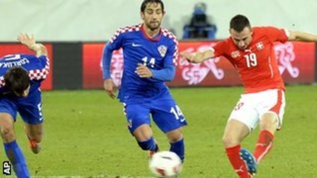 Swiss striker Josip Drmic