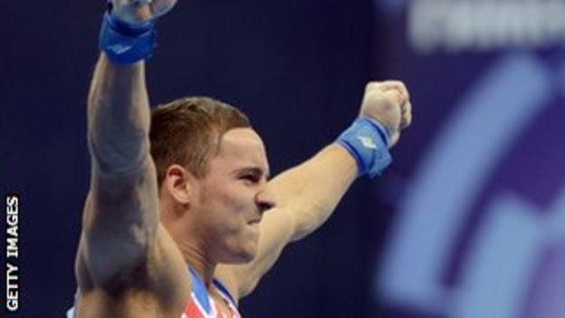European champion Daniel Keatings