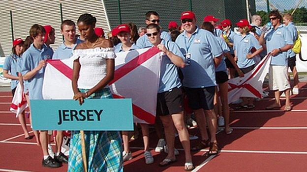 Jersey at the 2009 Jeux des Isles in Guadeloupe