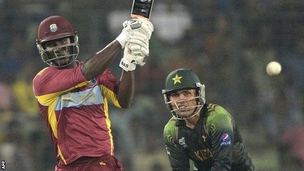 West Indies captain Darren Sammy hits out