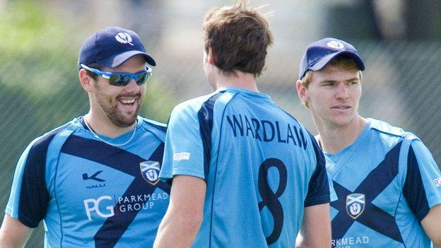 Scotland cricketers
