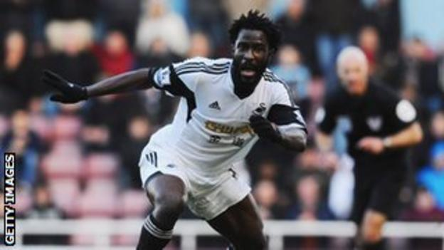Wilfried Bony joined Swansea for a club-record £12m in July 2013