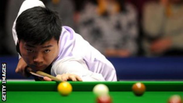 Ding continues his quest to win five ranking tournaments in one season.