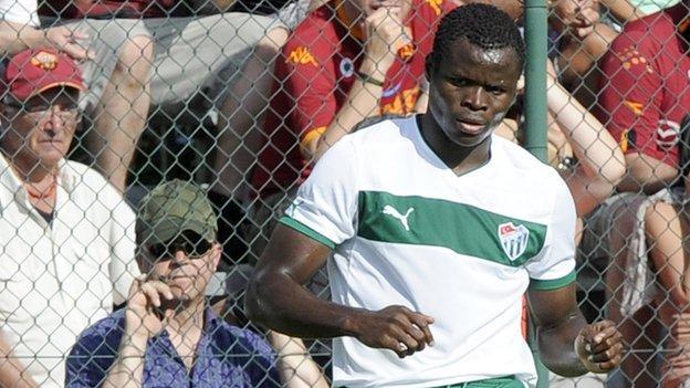 Nigeria and Buraspor defender Taye Taiwo