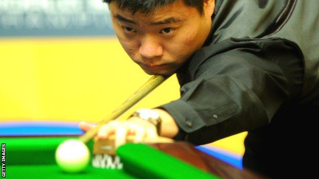 Ding Junhui of China
