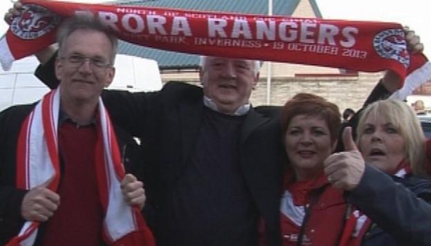Brora Rangers fans