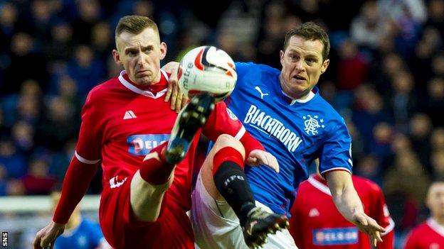 Jon Daly in action