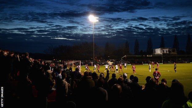 Alfreton Town's Impact Arena
