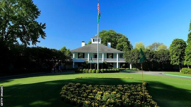Founders Circle and the Augusta Clubhouse
