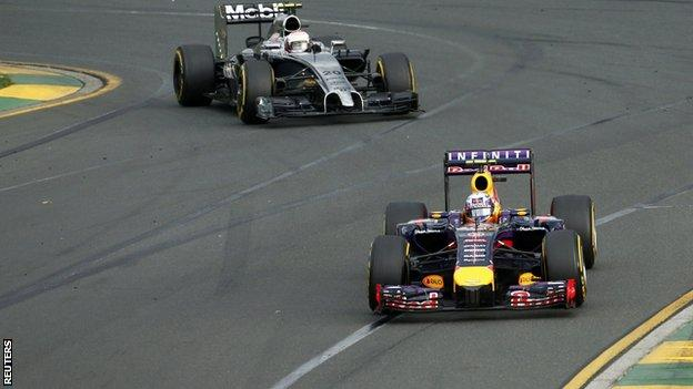 McLaren and Red Bull