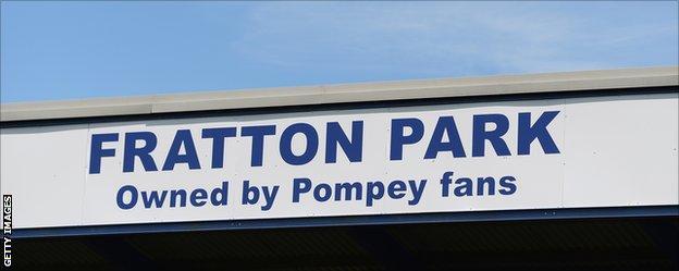 Portsmouth sign