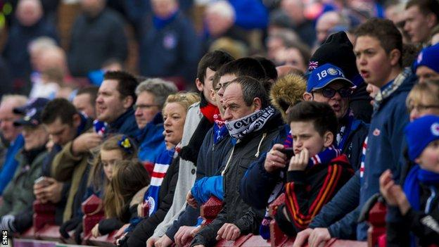 Rangers supporters