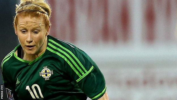 Rachel Furness of Northern Ireland
