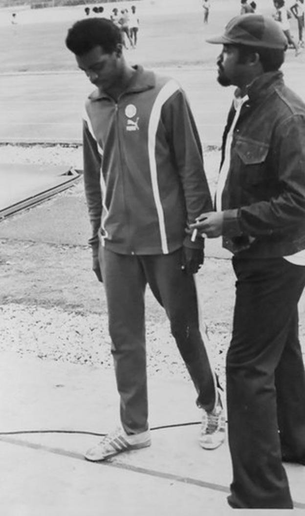 Anthony Davis and Dennis Johnson