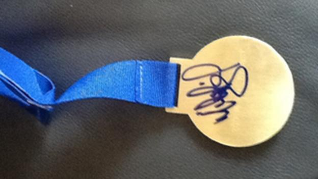 Jamieson's gold medal