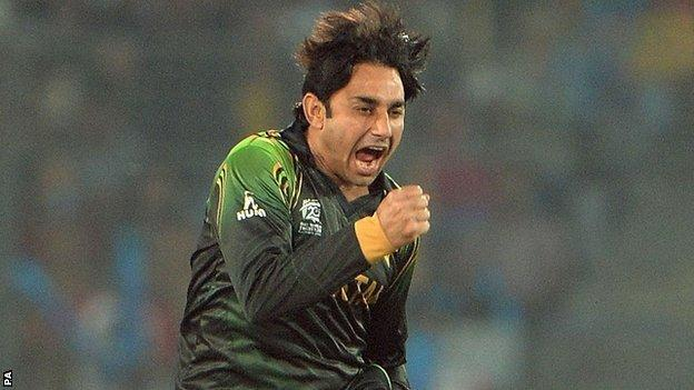 Saeed Ajmal, Worcestershire and Pakistan spinner