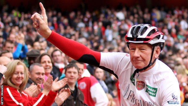 Arsenal legend Bob Wilson