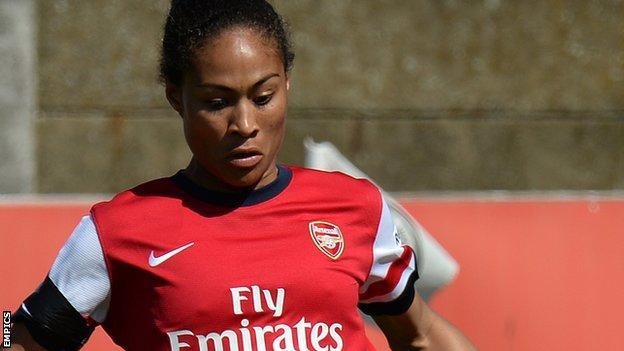 Arsenal's Rachel yankey