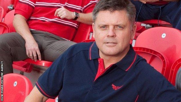 Mark Davies, acting chief executive of Regional Rugby Wales