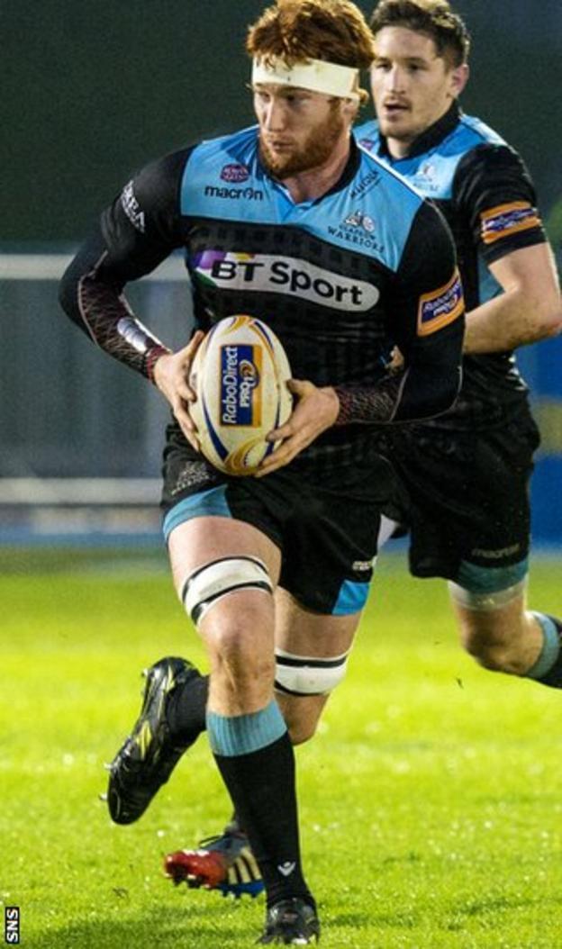 Glasgow Warriors forward Rob Harley
