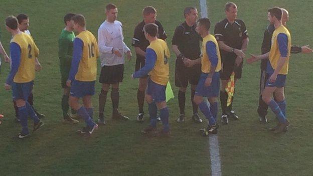 Wheway Cup Final 2014
