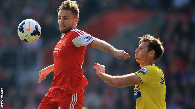 Southampton's Luke Shaw