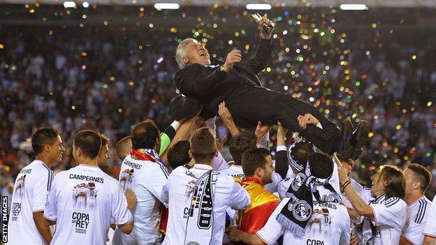 Real Madrid v Barcelona - Carlo Ancelotti